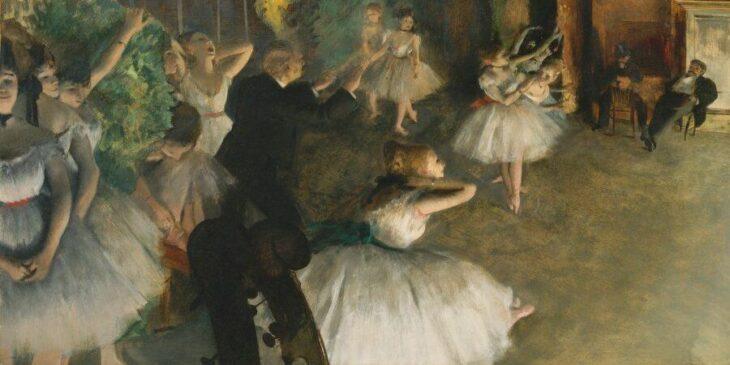Edgar Degas: En el arte nada debe parecer accidental, incluso un movimiento