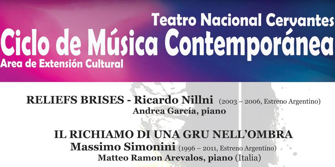 Imagen de Ciclo de Música Contemporánea en el Cervantes