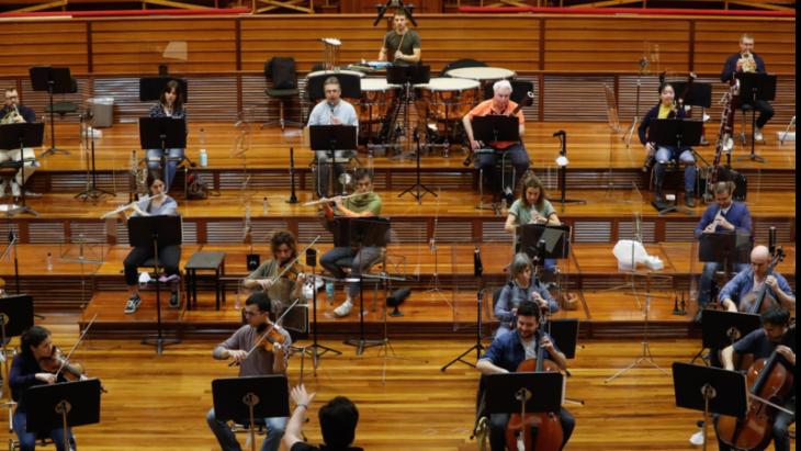 Imagen de Propuesta de protocolo para que las orquestas puedan volver a los escenarios