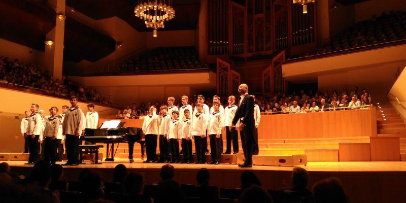 Imagen de Los niños cantores de Viena y una función inolvidable en Madrid