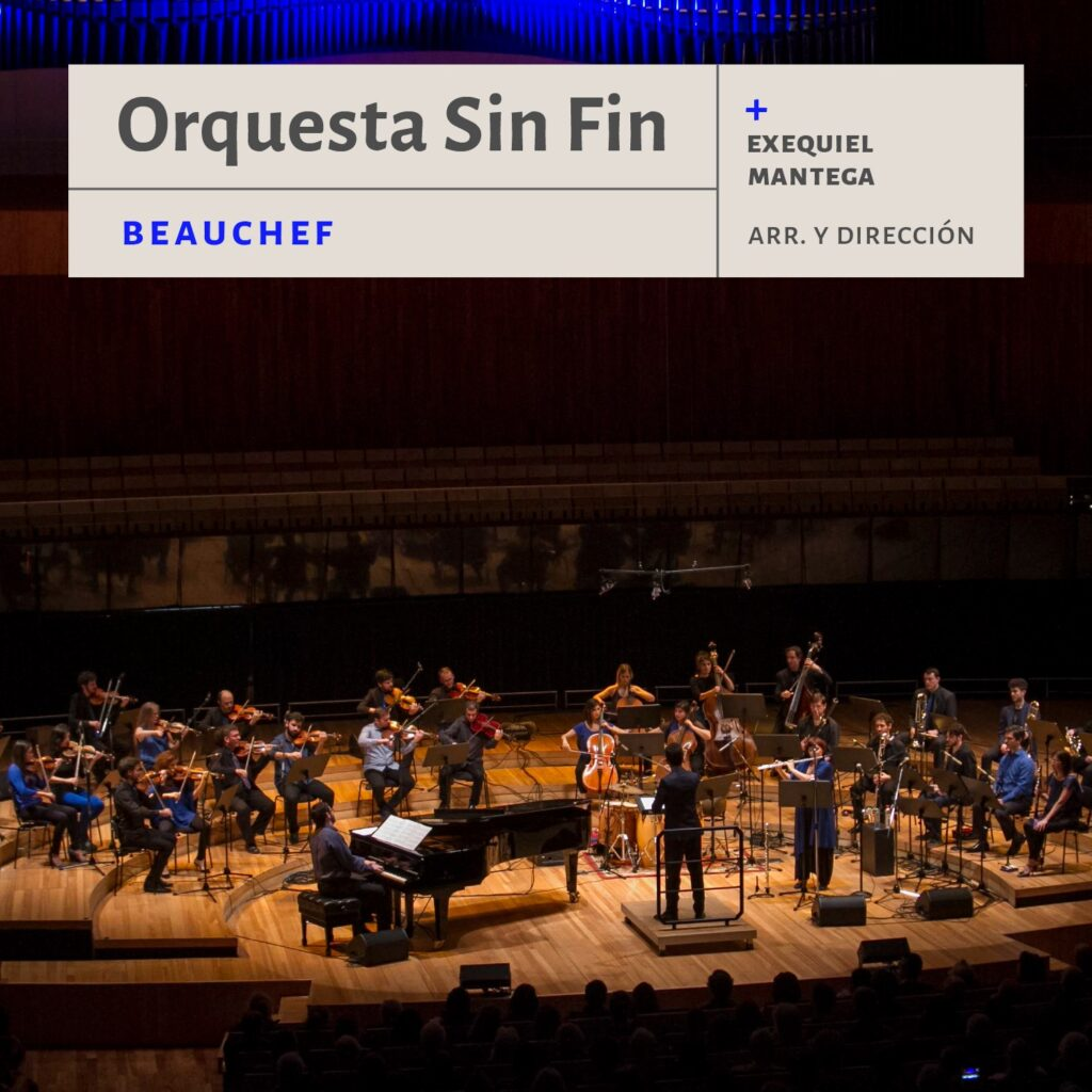 """Beauchef"",  obra sinfónica del compositor argentino Exequiel Mantega"