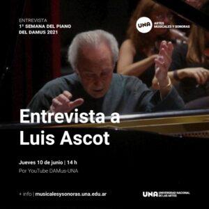 Entrevista a Luis Ascot