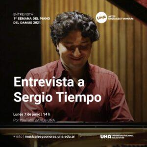 Entrevista a Sergio Tiempo