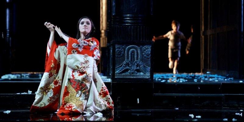 Imagen de Madama (Madame) Butterly en el Teatro Real de Madrid