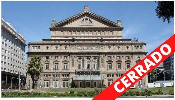 Imagen de El Teatro Colón cancela sus actividades por el Coronavirus