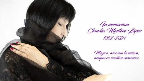 La compositora argentina Claudia Montero ha fallecido a los 58 años de edad