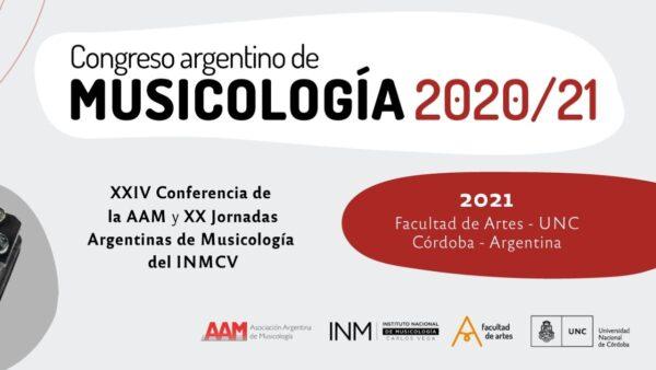 Congreso Argentino de Musicología 2020/21