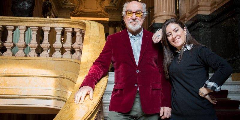 Imagen de Padre e hija unidos por una misma pasión: El canto Lírico.
