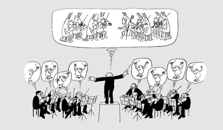 Humor para celebrar el Día del Director de Orquesta