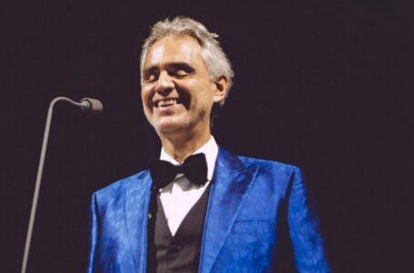 Andrea Bocelli interpretó 'Nessun dorma' en la ceremonia de la Eurocopa