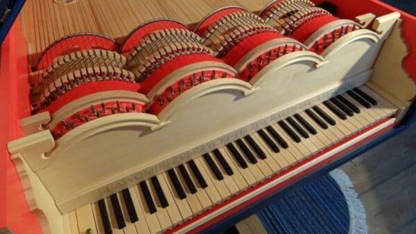 El piano que soñó Leonardo Da Vinci