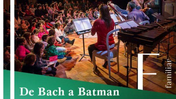 De Bach a Batman, online, del Teatro Municipal de Santiago
