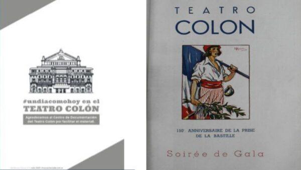 Teatro Colón Julio 1939 – Conmemoración de la Revolución Francesa