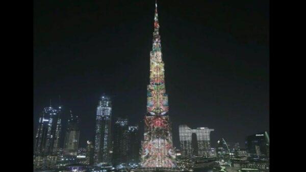 Artistas argentinos en el Burj Khalifa – Dubai