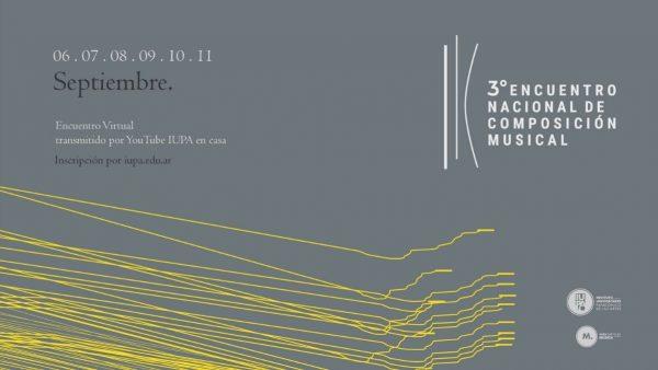 Encuentro Nacional de Composición Musical (online)