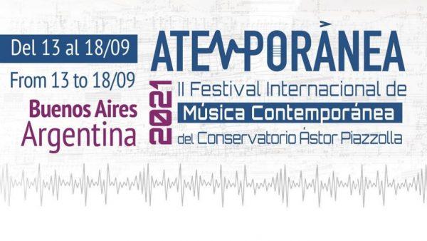 Atemporánea 2021 – II Festival Internacional de Música Contemporánea
