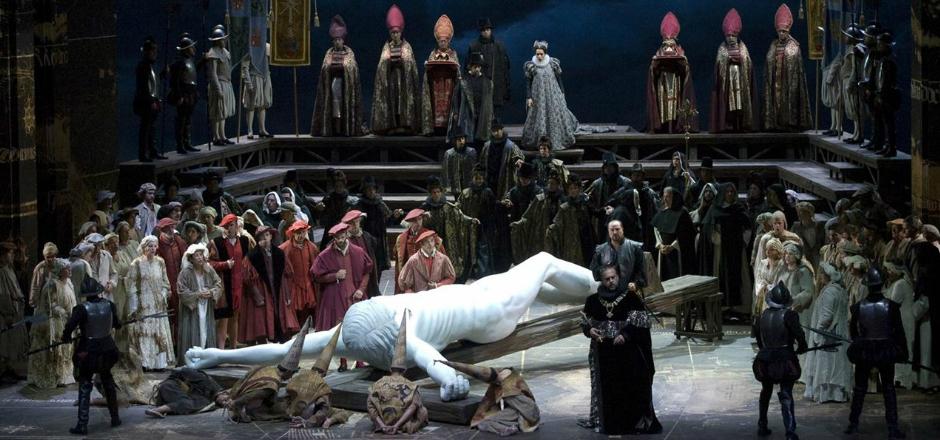 Imagen de Don Carlo en el 80 Maggio Fiorentino dirigido por Zubin Mehta