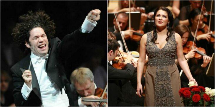 Imagen de El Liceu reúne por primera vez a Gustavo Dudamel y Anna Netrebko