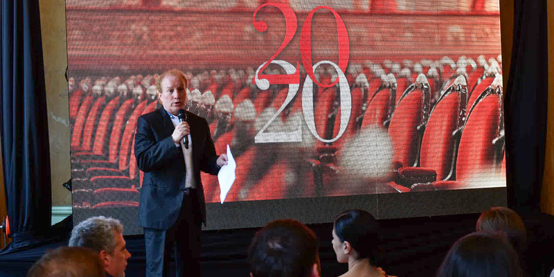 Imagen de El Teatro Colón presentó su temporada 2020