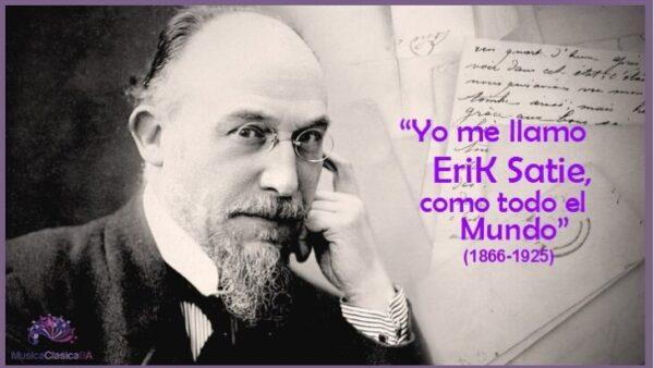 Algunas geniales frases de EriK Satie