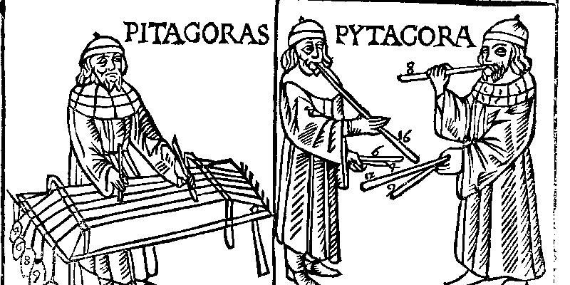Imagen de Los Martillos de Pitágoras según Boecio