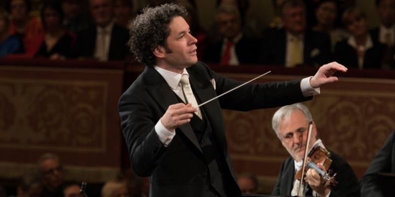 Imagen de El concierto de Dudamel será transmitido en vivo