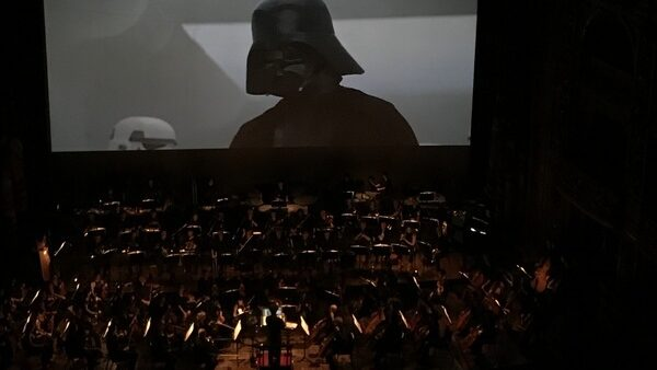 Star Wars, una nueva esperanza, en concierto