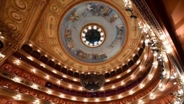 Raul Soldi y la Cúpula del Teatro Colón