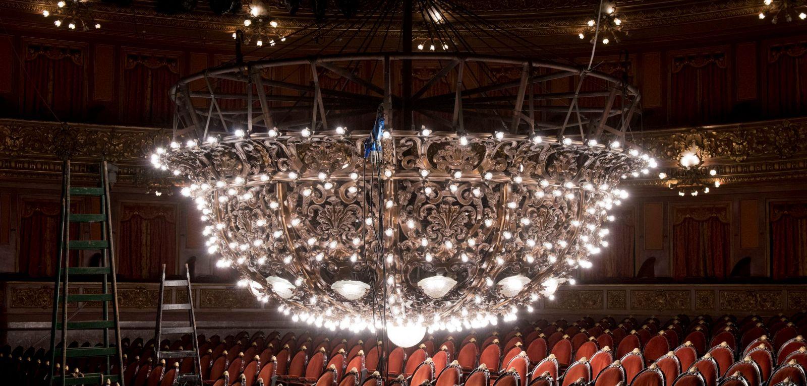 Imagen de La Araña del Teatro Colón