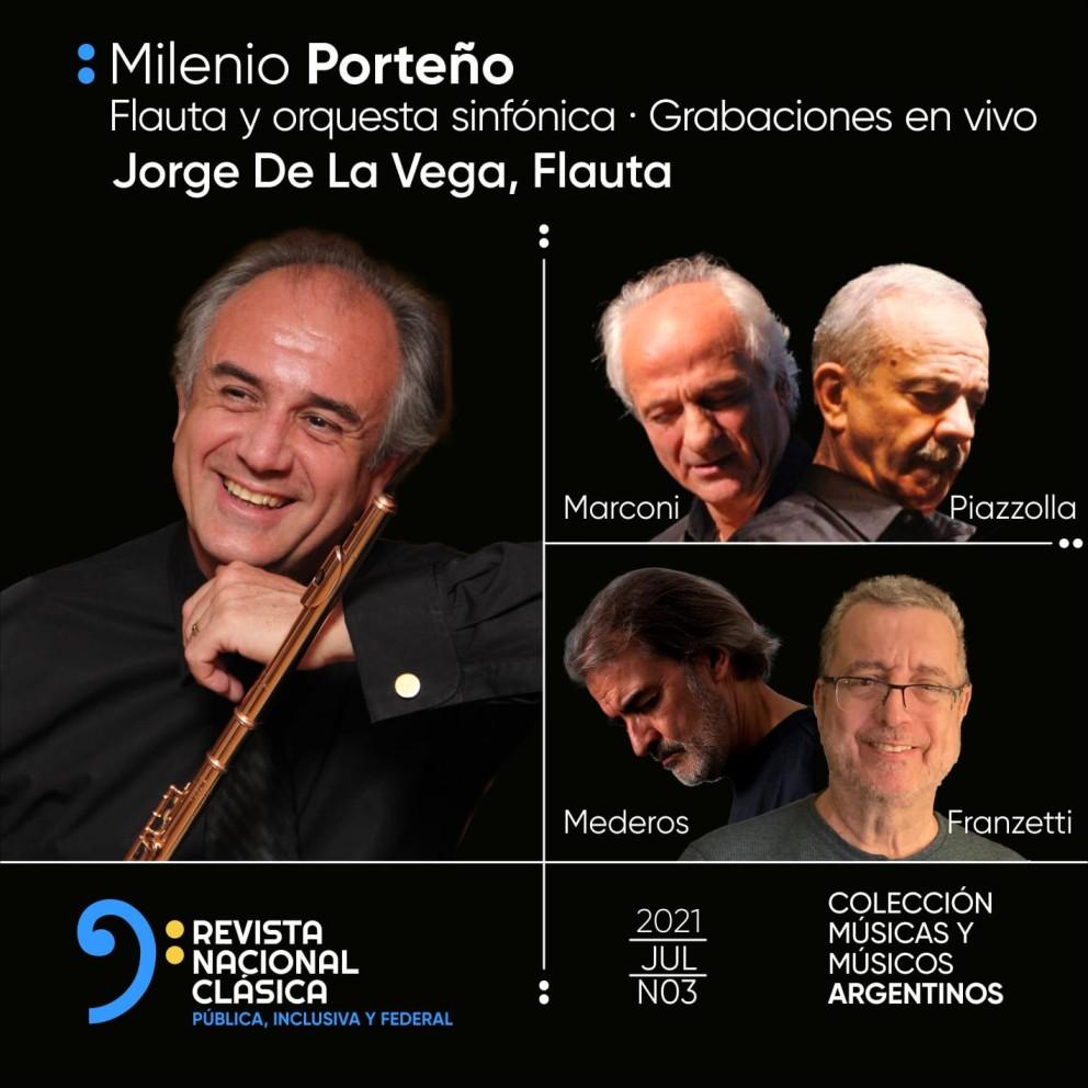 Milenio Porteño, el tercer disco de la colección Músicas y Músicos Argentinos