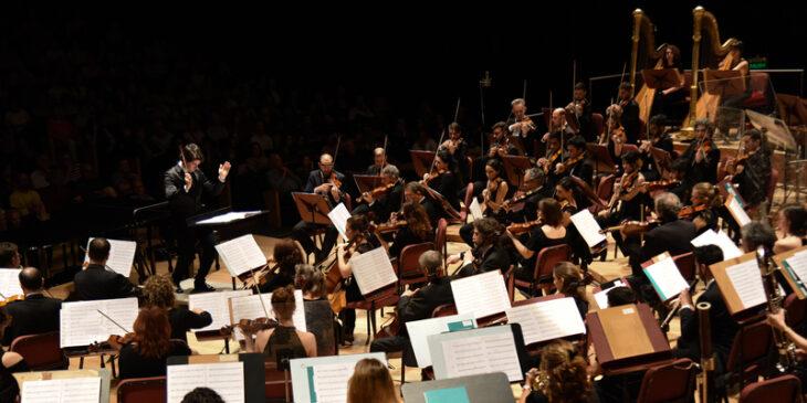Imagen de Ciclo Beethoven.- Tres obras de la Orquesta Sinfónica Nacional y el Coro Polifónico Nacional