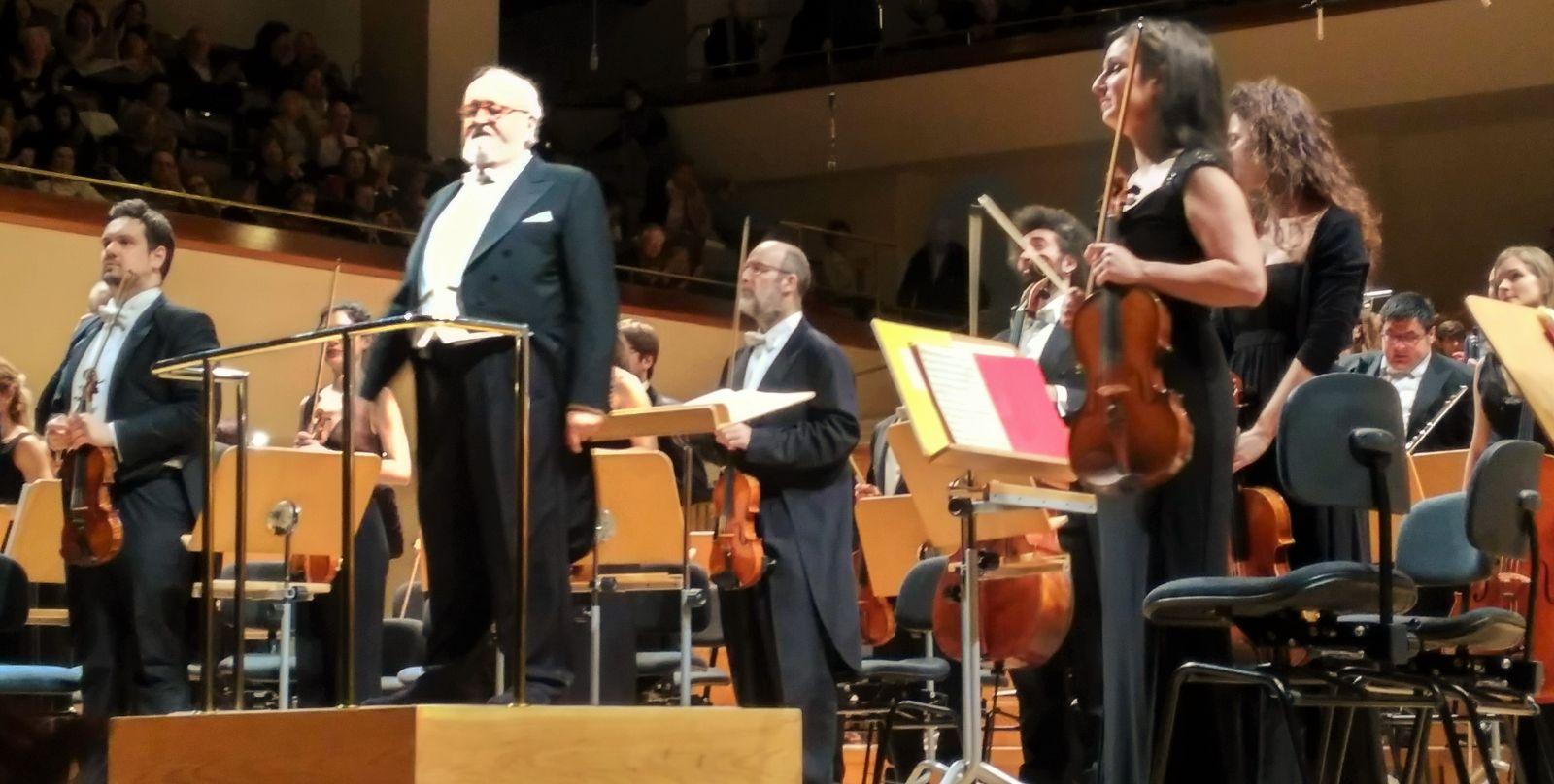 Imagen de Tres veces Penderecki y el cellista Gautier Capuçon