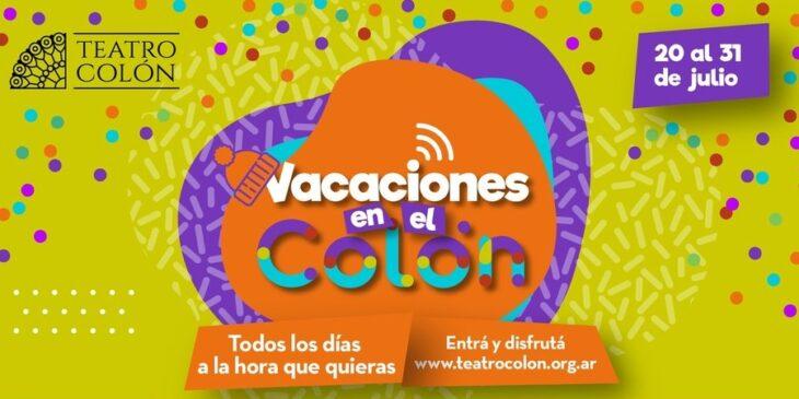 Imagen de Distintas propuestas del Teatro Colón para las Vacaciones de Invierno