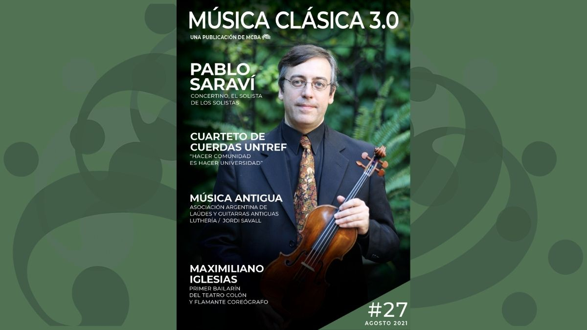 Música Clásica 3.0 es un publicación mensual digital de MusicaClasicaBA. Un enfoque más actual y desestructurado del mundo de la música clásica.