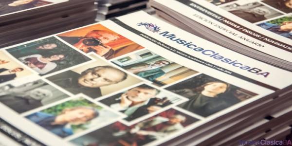 Imagen de 2° Número de la Revista MusicaClasicaBA