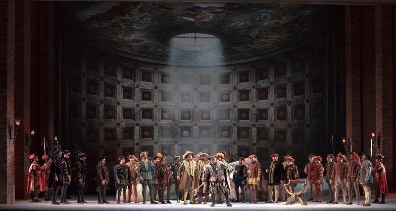 """Imagen de """"Rigoletto"""" en el Colón: La música vence la puesta"""