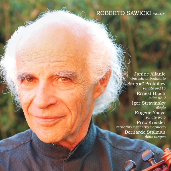 Imagen de Un valioso registro para violín solo de Roberto Sawicki