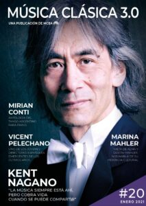 Kent Nagano tapa de revista