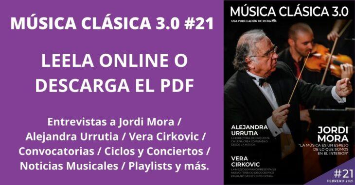 Imagen de Revista Música Clásica 3.0 #21