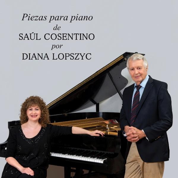 Imagen de Piezas para piano de Saúl Cosentino