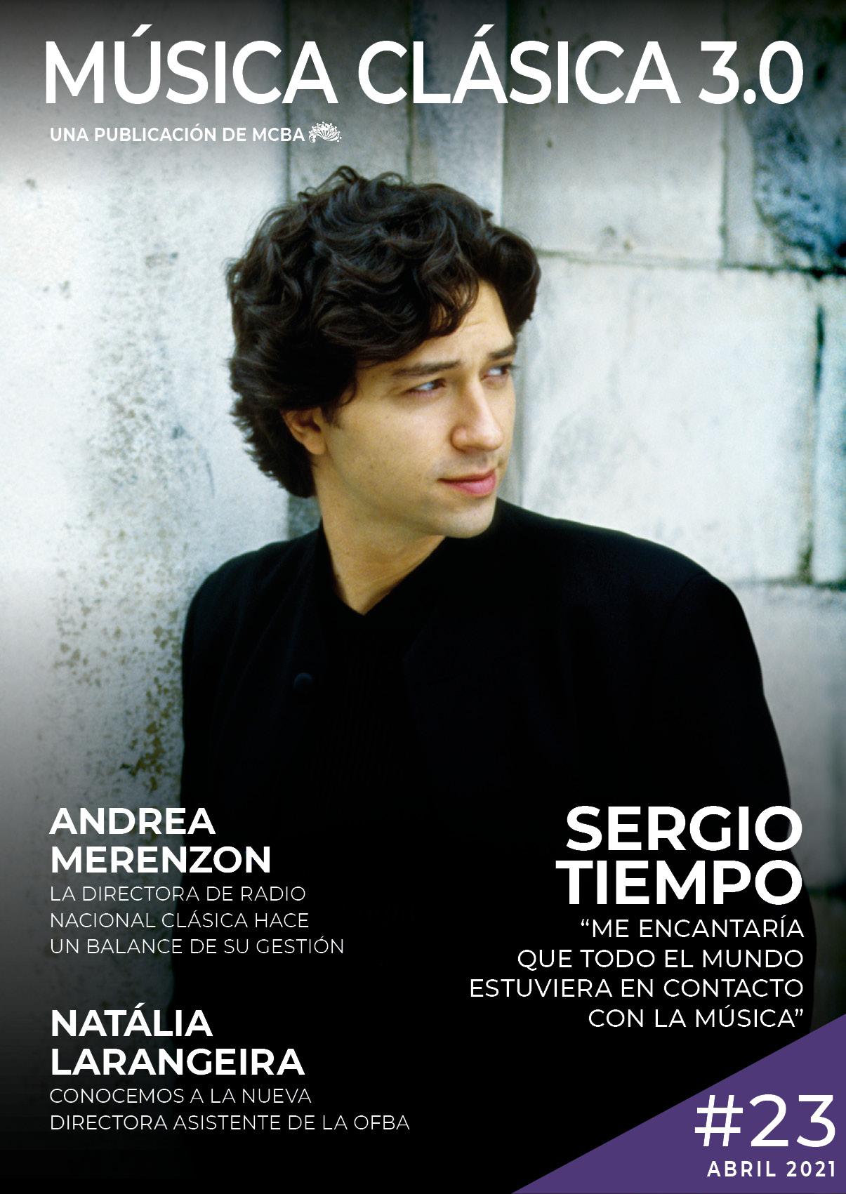 Sergio Tiempo Revista Música Clásica 3.0