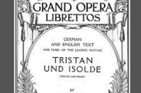 156 años de Tristán e Isolda de Richard Wagner