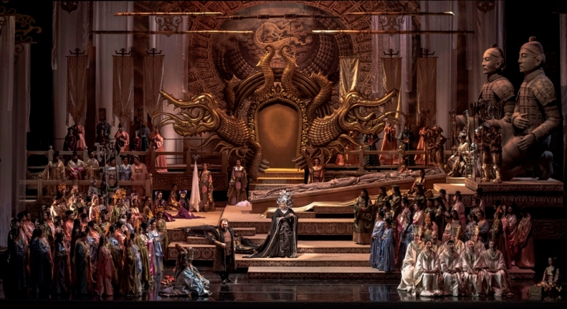 Imagen de Turandot de Puccini en el Colón con algunos aspectos para recordar.