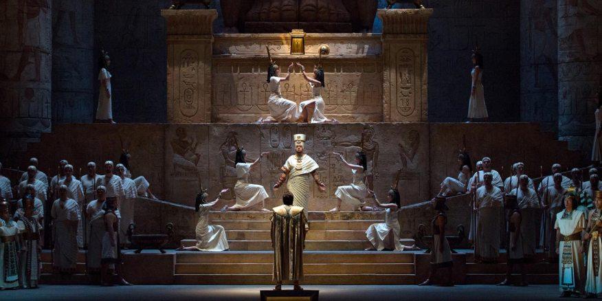 """Imagen de El MET inicia temporada con una memorable actuación de Netrebko y Rachvelishvili en """"Aida"""""""