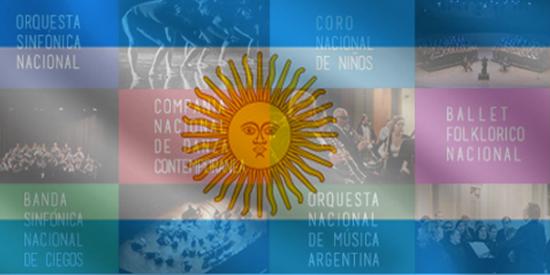 Imagen de Día de la bandera argentina junto a los elencos nacionales de música y danza