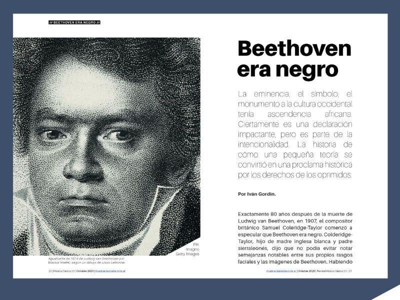 Beethoven era negro
