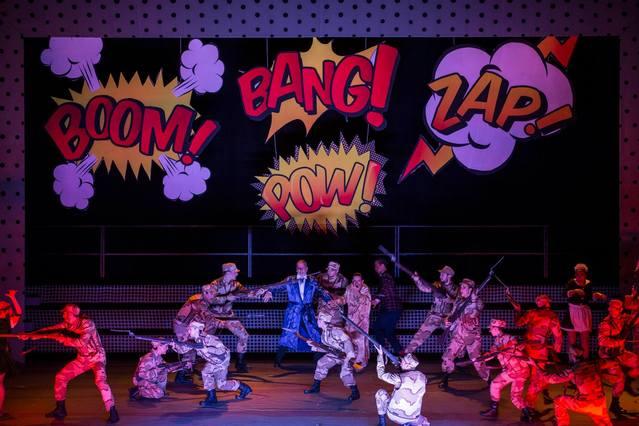 Imagen de Candide en el Teatro Coliseo