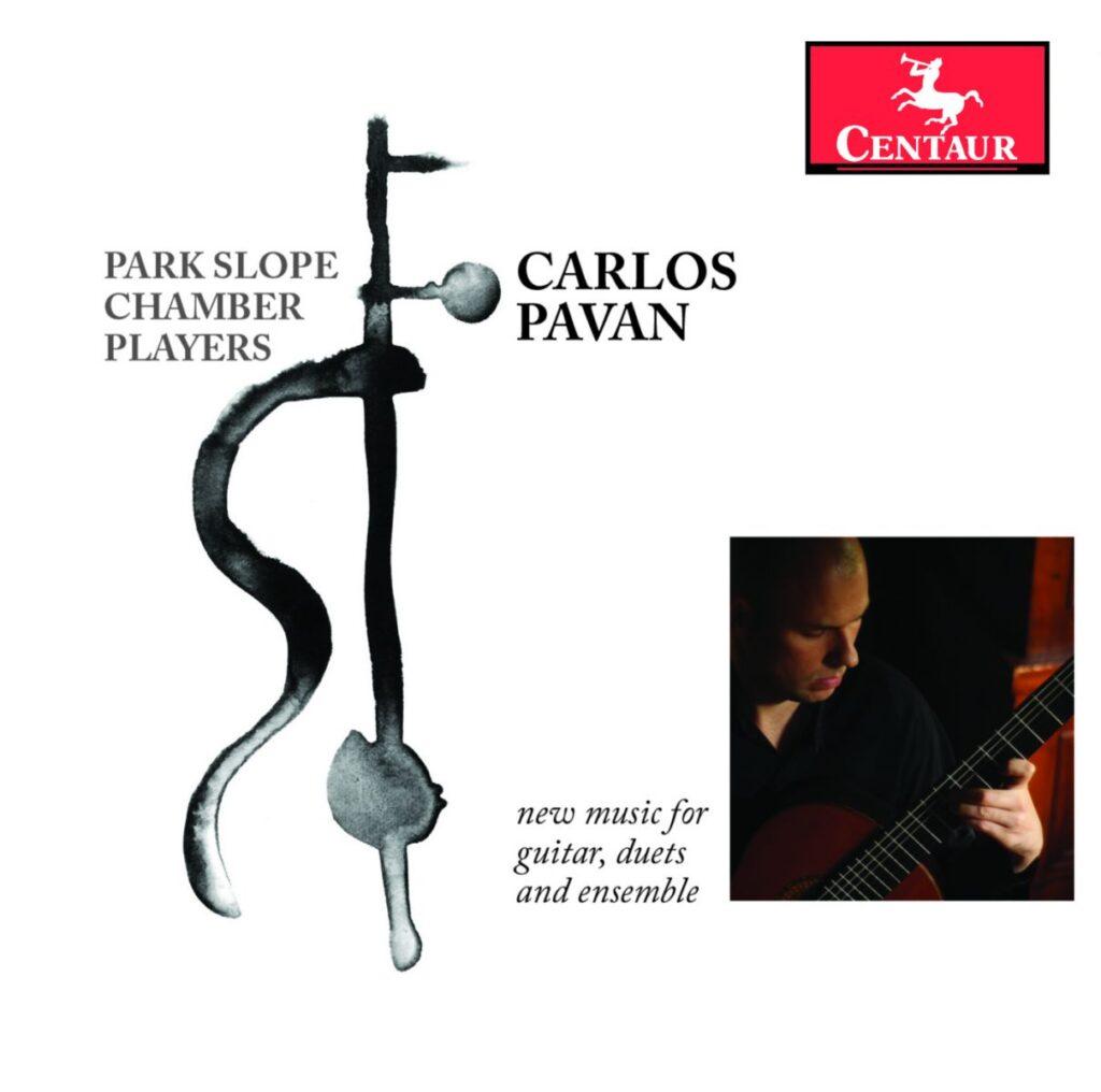 Nueva música para guitarra, dúos y ensamble. De Carlos Pavan.