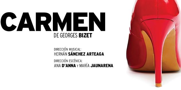 """Imagen de """"Carmen"""" en el Avenida por Juventus Lírica"""