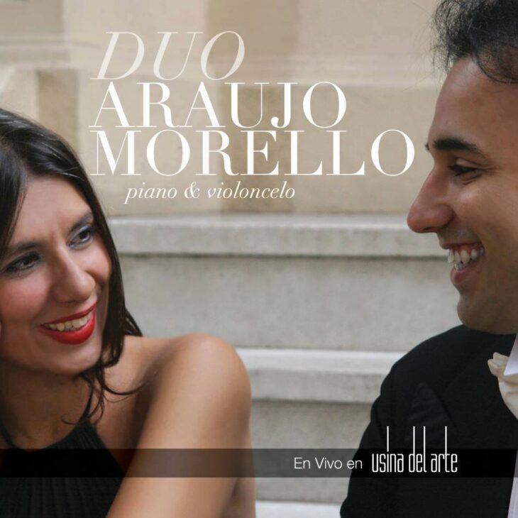 """""""Piano & Violoncelo"""" del Dúo Araujo-Morello."""